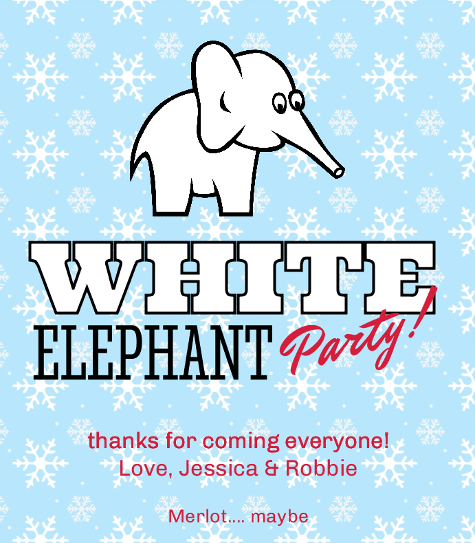 White Elephant Party