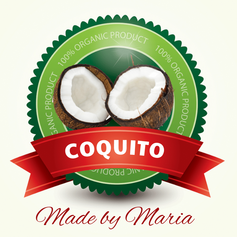 Coquito Food Label By Bottleyourbrand