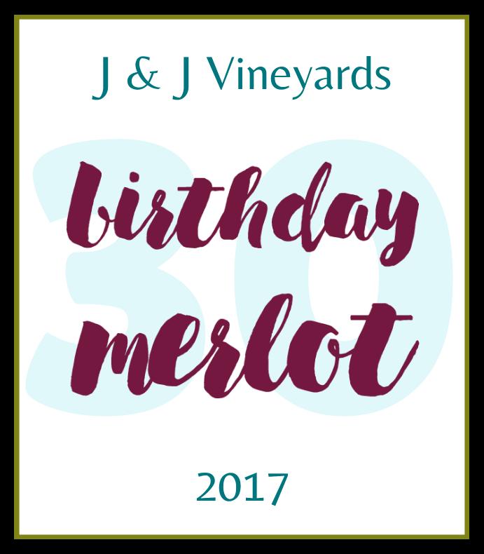 Birthday Merlot