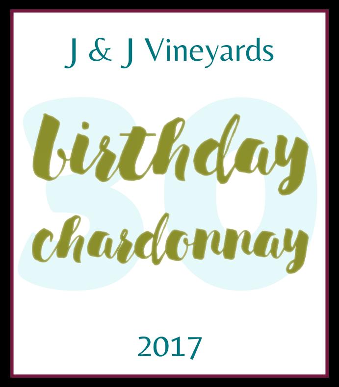 Birthday Chardonnay