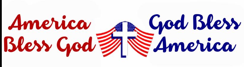 America Bless God God Bless America Bumper Sticker by BottleYourBrand