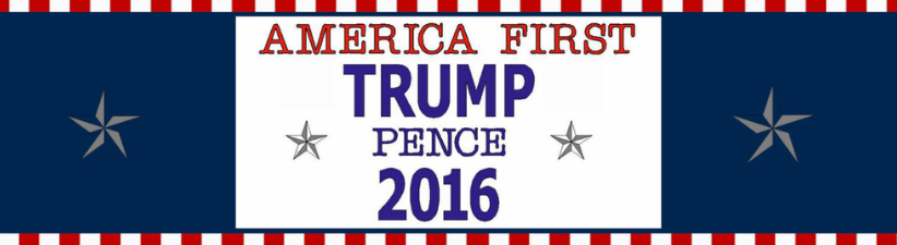 America First Trump Pence