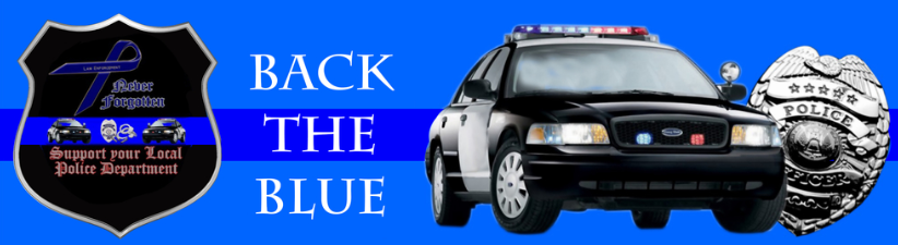 Back The Blue Car