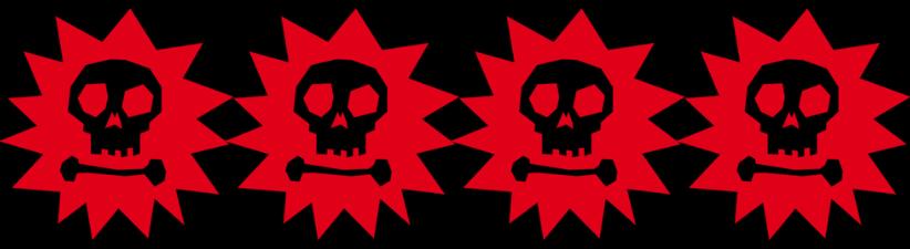 Cool Pirate Skull