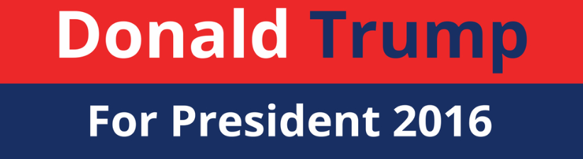 Donald Trump For President 2016 Election