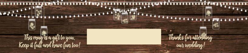 Twinkling Mason Jars