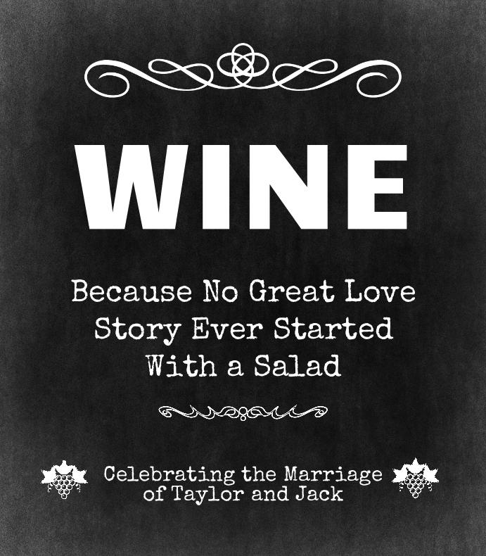 Wine Love Story