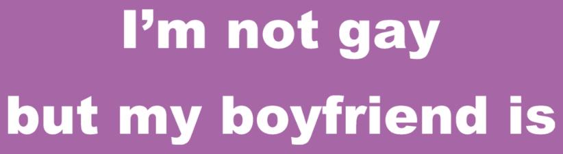 Gay Slogan