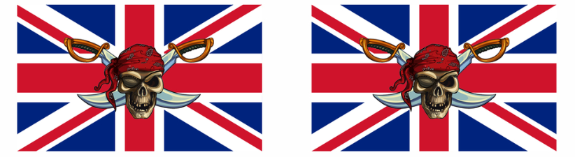 Great Britain Pirate Flag