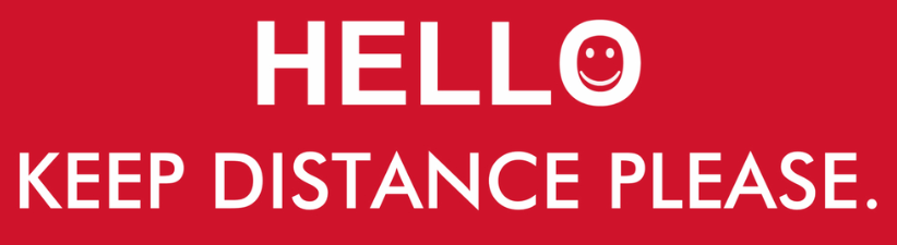 Hello and Keep Distance