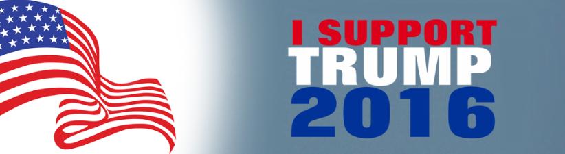 I support Trump 2016