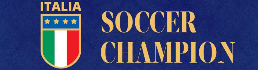 Italy Italia Soccer Champion