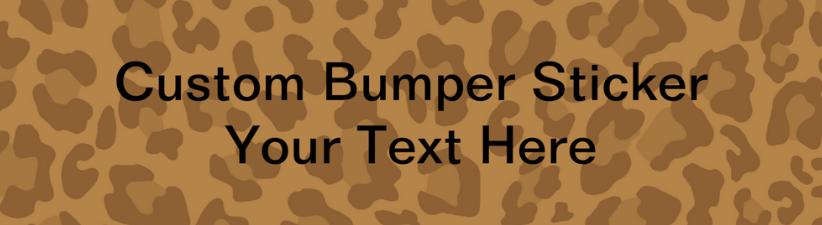 Leopard Print Pattern Personalize