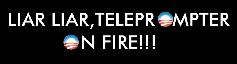Liar Liar Teleprompter On Fire