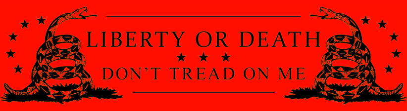 Liberty Or Death Dont Tread On Me