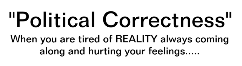 Political Correctness No Place For Reality