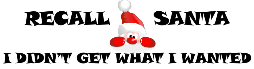 Recall Santa