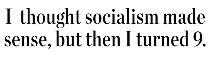 Socialist Naivety