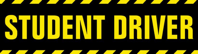 Student Driver Warning