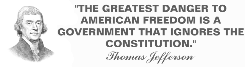 Thomas Jefferson Constitution Quote