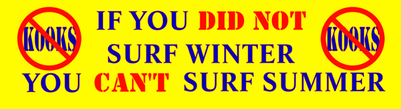 You Cant Surf Summer