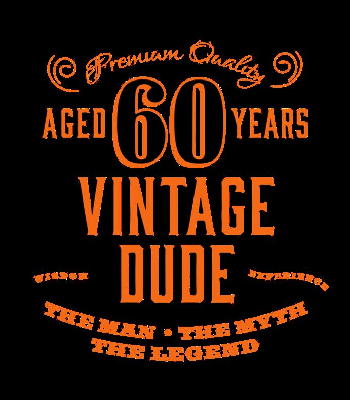 60th Vintage Dude