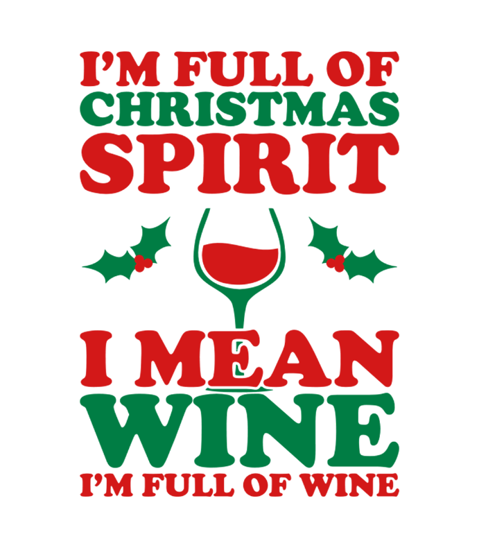Christmas Spirit Wine