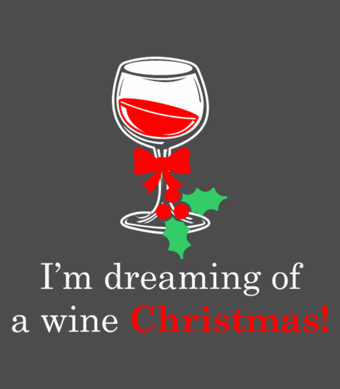Im Dreaming Of A Wine Christmas