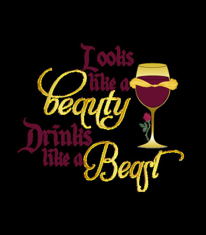 Looks Like A Beauty Drinks Like A Beast