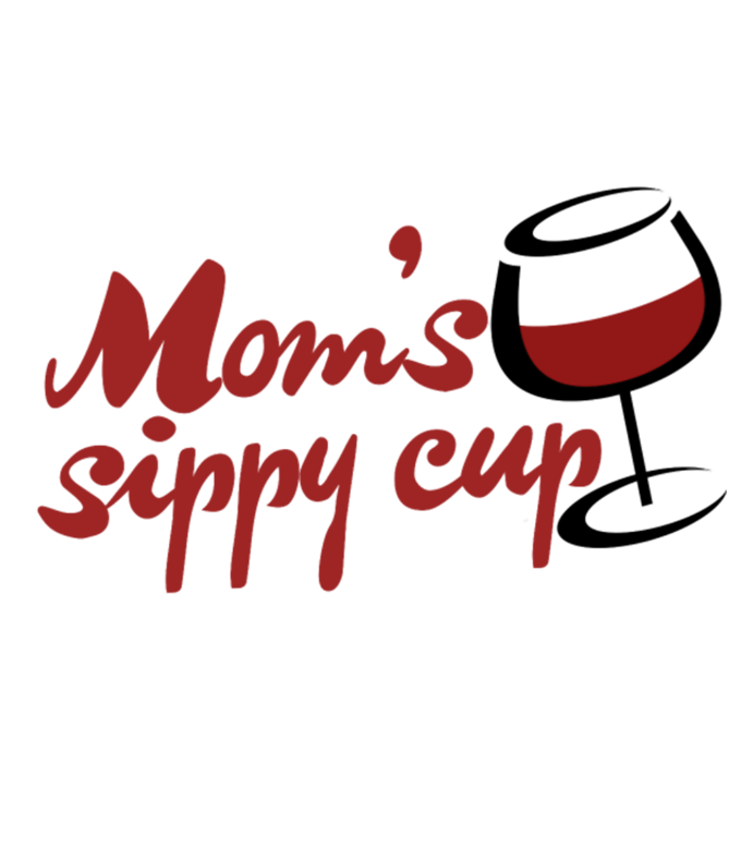 Moms Sippy Cup Mom Loves Red Wine
