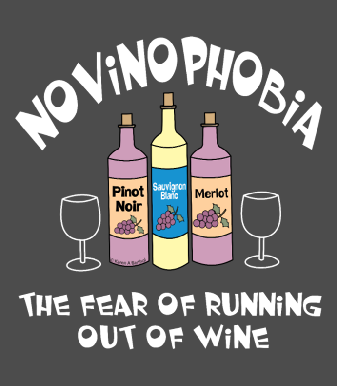 Novinophobia Bottles White Text