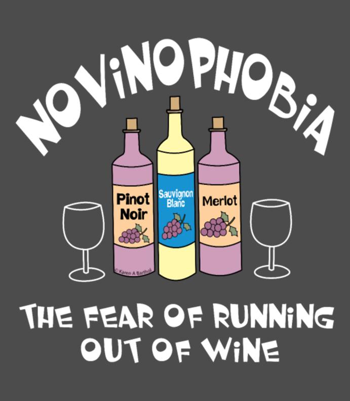 Novinophobia Bottles White Text
