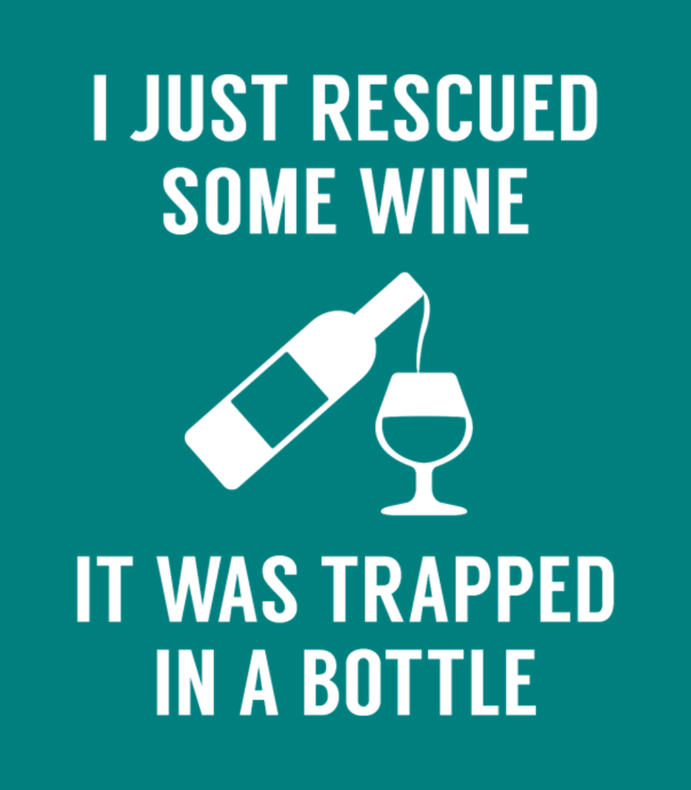 Rescued Some Wine