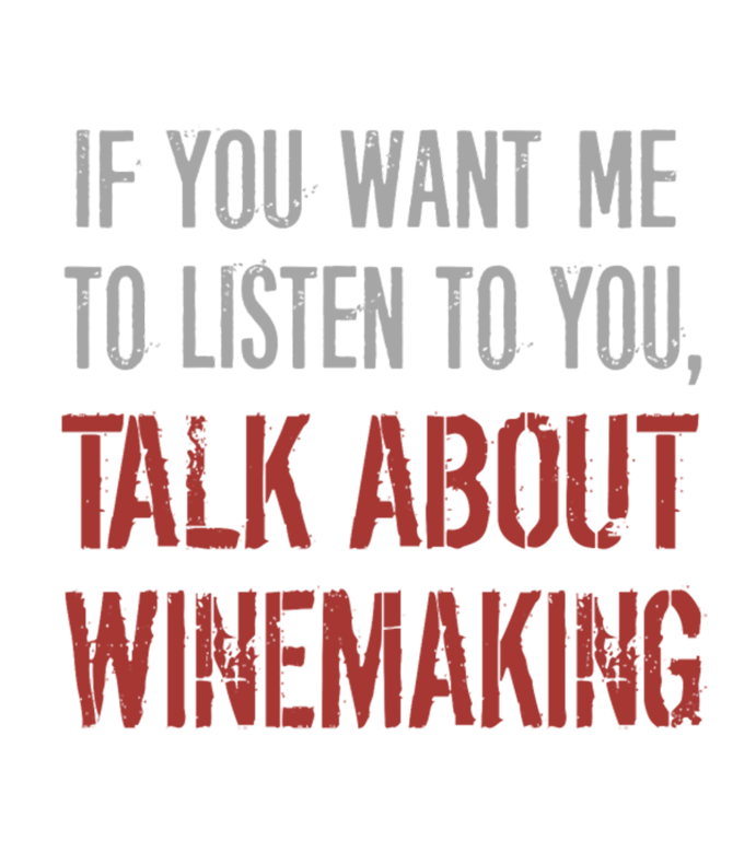 Talk About Winemaking