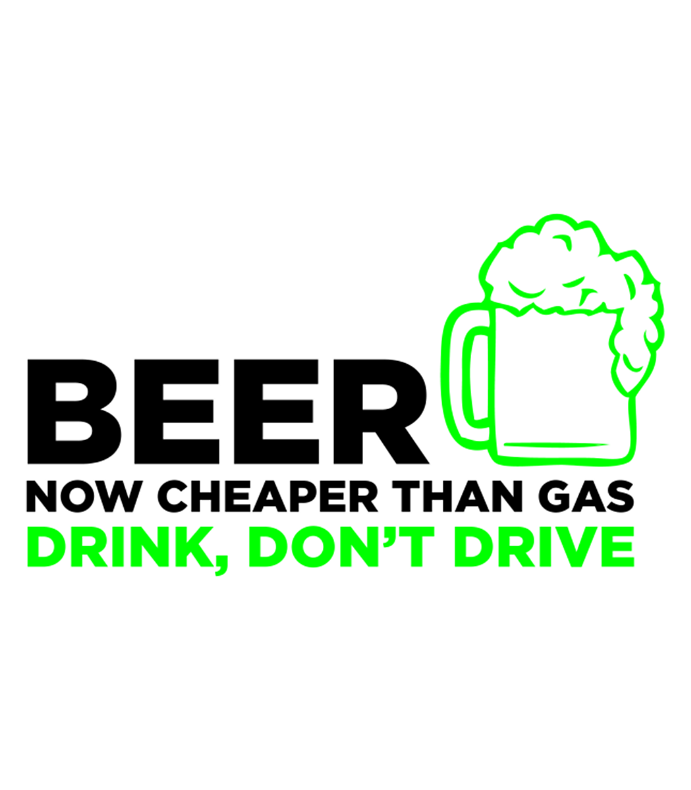 White Drink Dont Drive