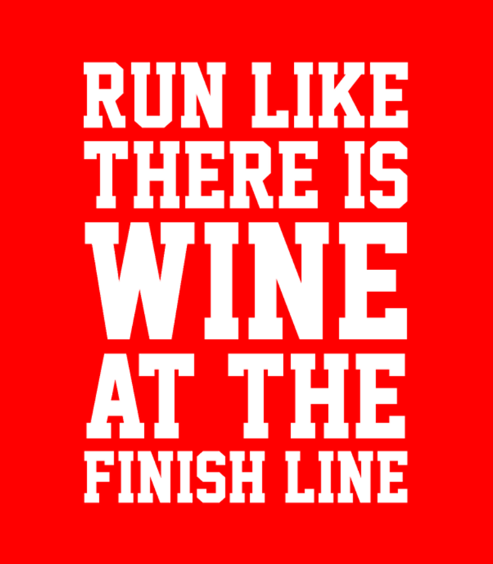 Wine At The Finish Line