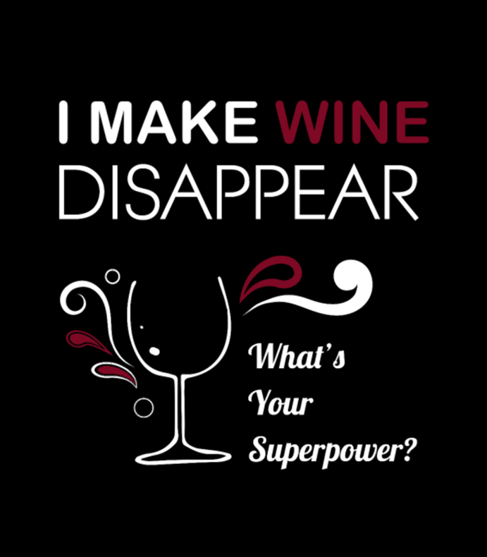Wine I Make Wine Disappear