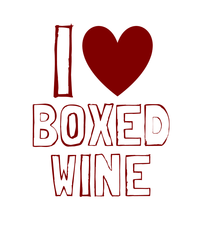 Heart Boxed Wine
