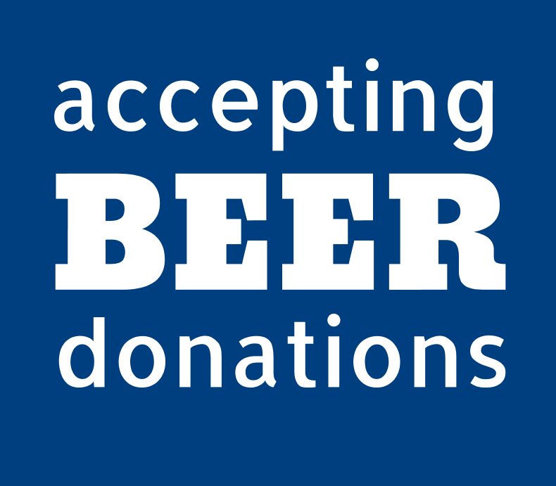 Accepting Beer Donations