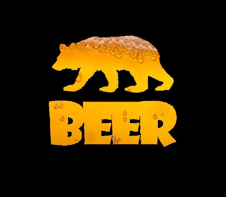 Bear Beer Drunk Funny