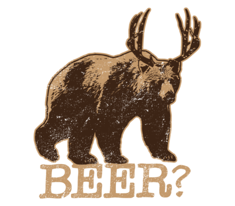 Bear Deer Is Beer Deer