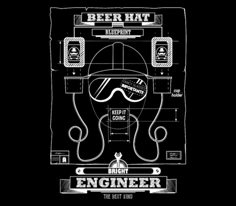 Beer Hat For Engineers