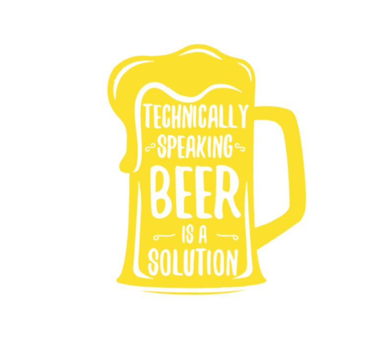 Beer Is A Solution