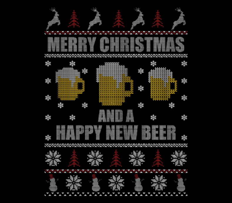Beer Lover Merry Christmas And A Happy New Beer