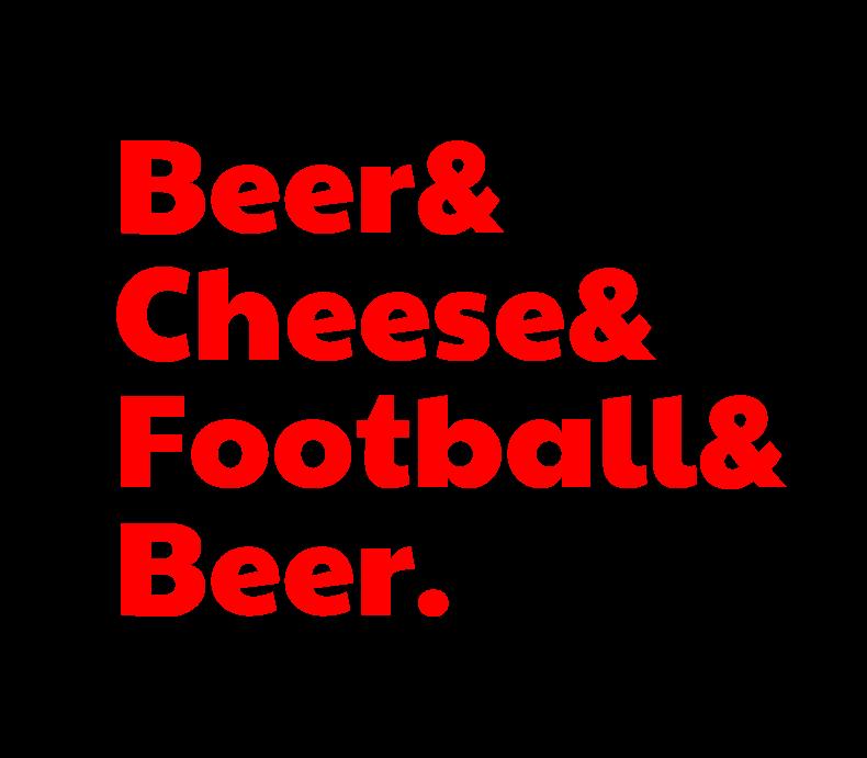 Beerandcheeseandfootballandbeer