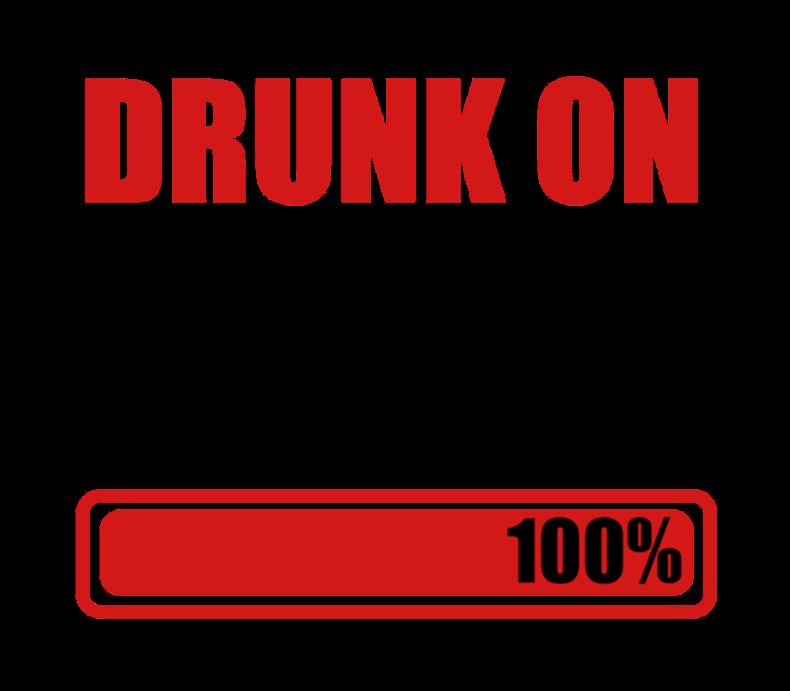 Drunk On Beer 100%