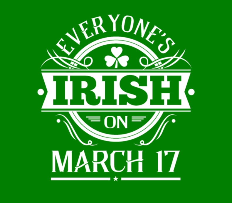 Everyones Irish March 17