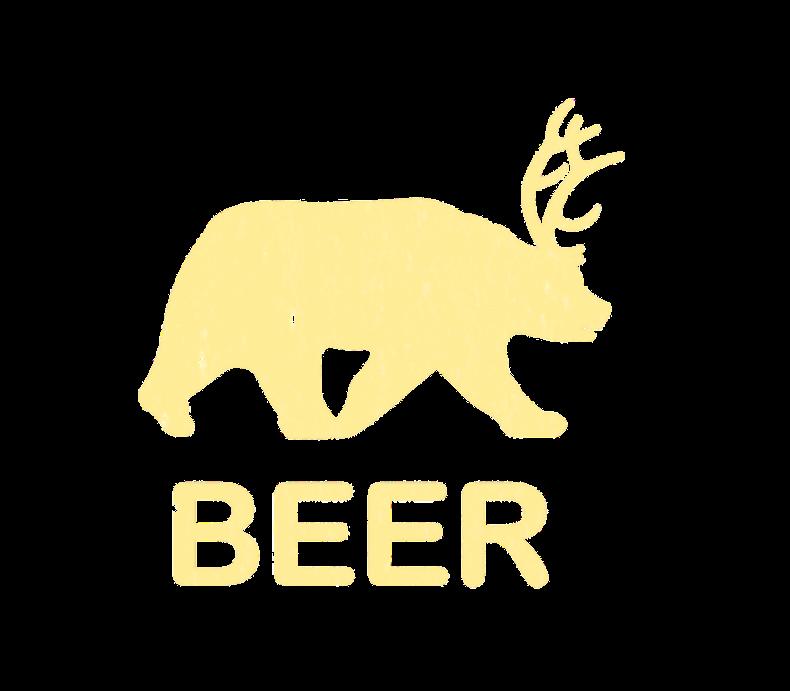 Funny Gym Beer Bear Deer Vintage