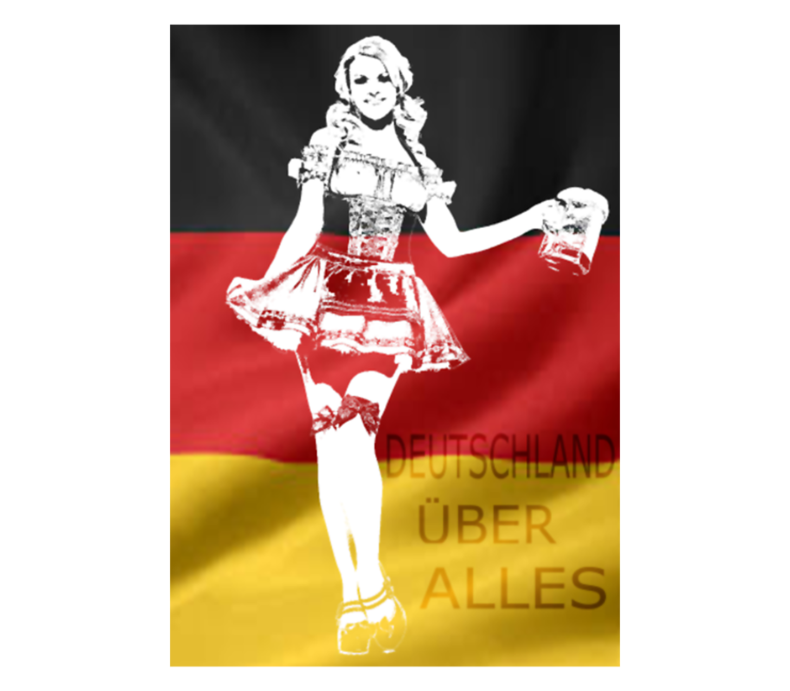 German Beer Girl Costume Png