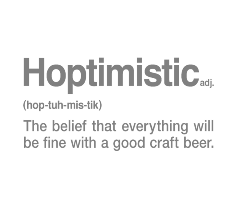 Hoptimistic Beer Definition